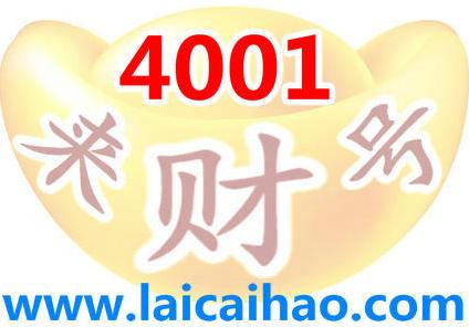 4001电话号码